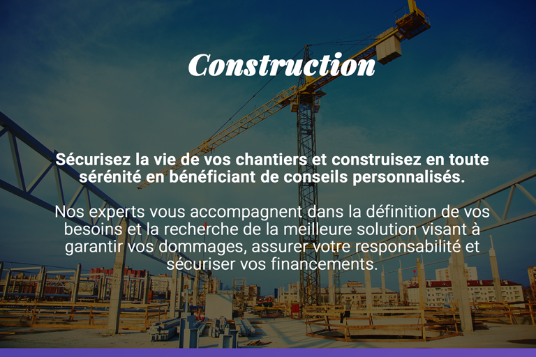 assurances construction