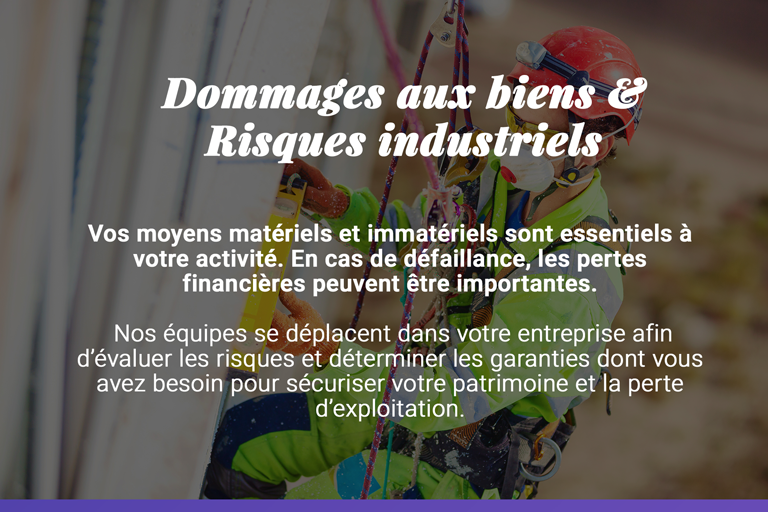 assurances risques industriels